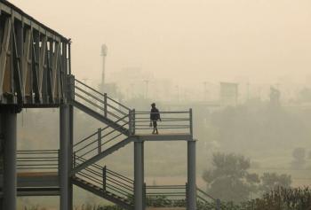 Declaran emergencia en Nueva Delhi por contaminación