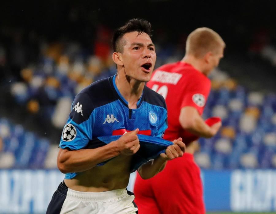 """""""Chucky"""" Lozano se reencuentra con el gol en la Champions"""