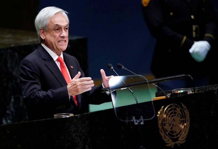 Piñera afirma que culminará su administración pese a protestas
