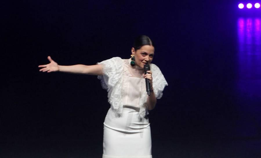 [Galería] Natalia Lafourcade canta para preservar el son jarocho