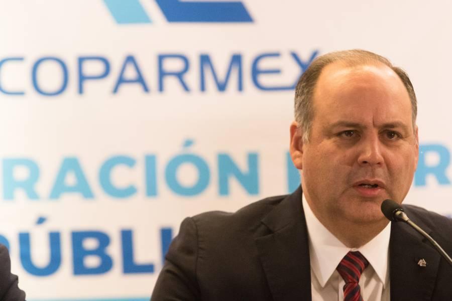 Coparmex da a conocer medidas que pueden impulsar la economía de México