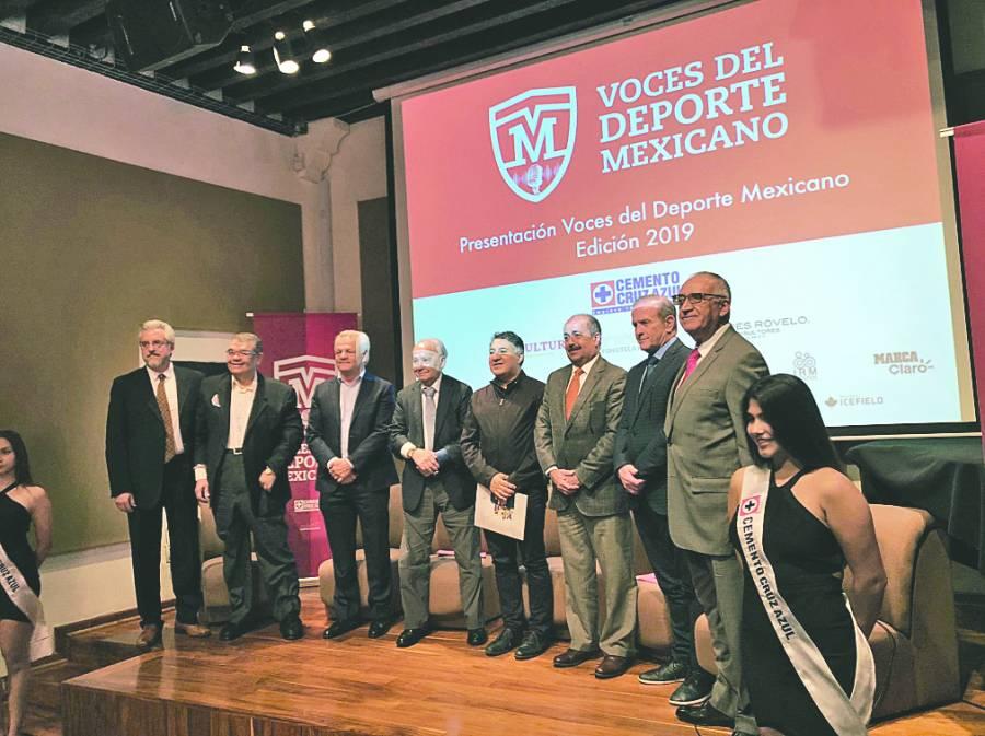 Voces del Deporte Mexicano alista galardón para edición 2019
