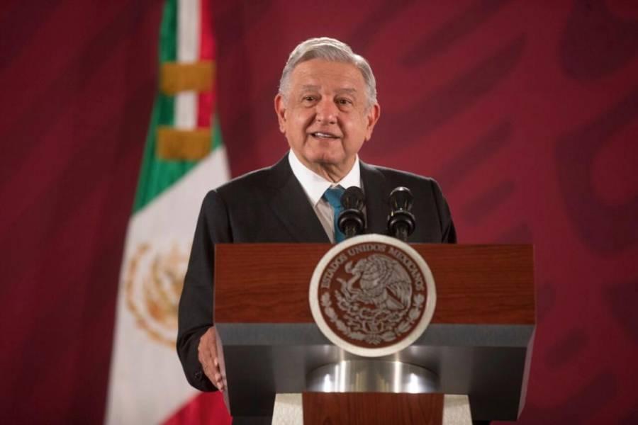 Agradece AMLO apoyo de Trump contra narco; es asunto de México, dice