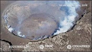 La UNAM y CENAPRED realizan sobrevuelo para monitorear el Popocatépetl