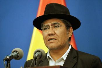 Canciller denuncia intento de golpe de Estado en Bolivia