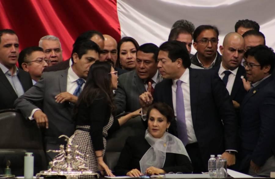 Extinción de Dominio para cuentas congeladas rompe sesión en Cámara de Diputados