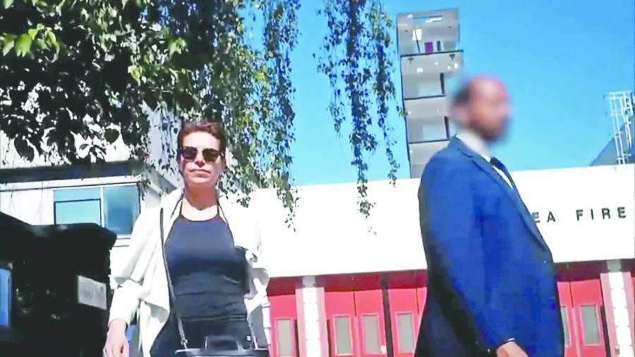 Esposa de Duarte pasó una semana detenida: abogados
