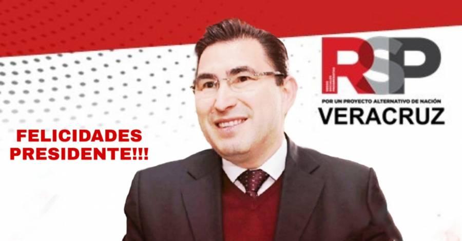 Reconoce INE a José Fernando González Sánchez como presidente nacional de Redes Sociales Progresistas