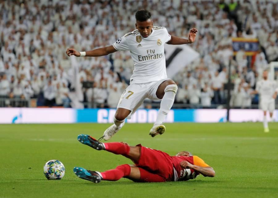 Rodrygo Goes hace historia con Hat-Trick perfecto ante el Galatasaray