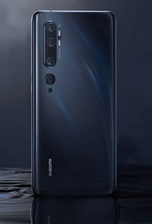 ¡Celular con cinco cámaras! Xiaomi lanza el Mi Note 10