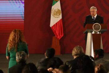 Yo busco estigmatizar la corrupción, no a periodistas, dice López Obrador