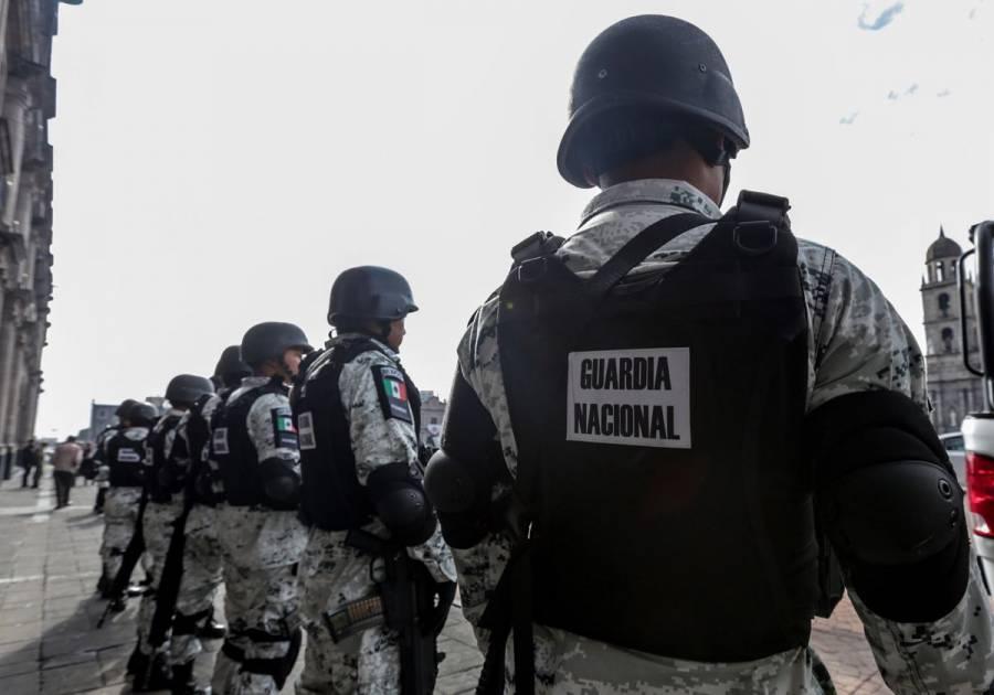 Guardia Nacional captura a siete con armas en Tlalpan