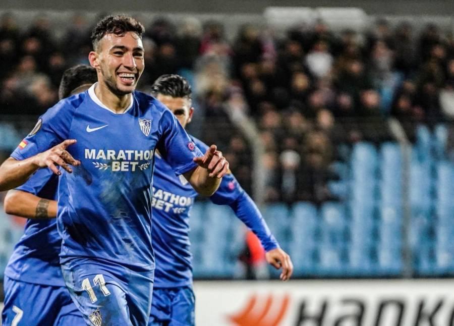 """Sin """"Chicharito"""" el Sevilla gana y avanza a la siguiente ronda en la Europa League"""