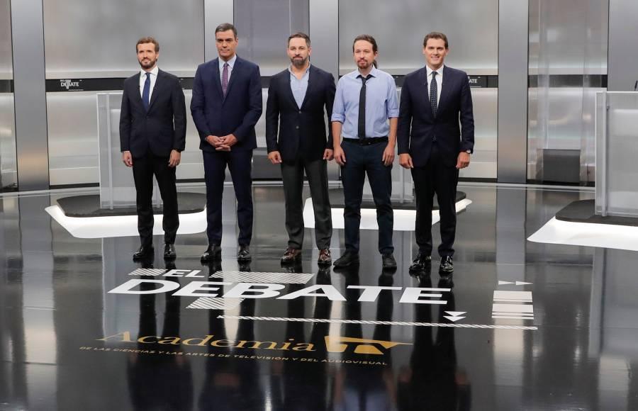 Estos son los candidatos a la Presidencia del Gobierno en España