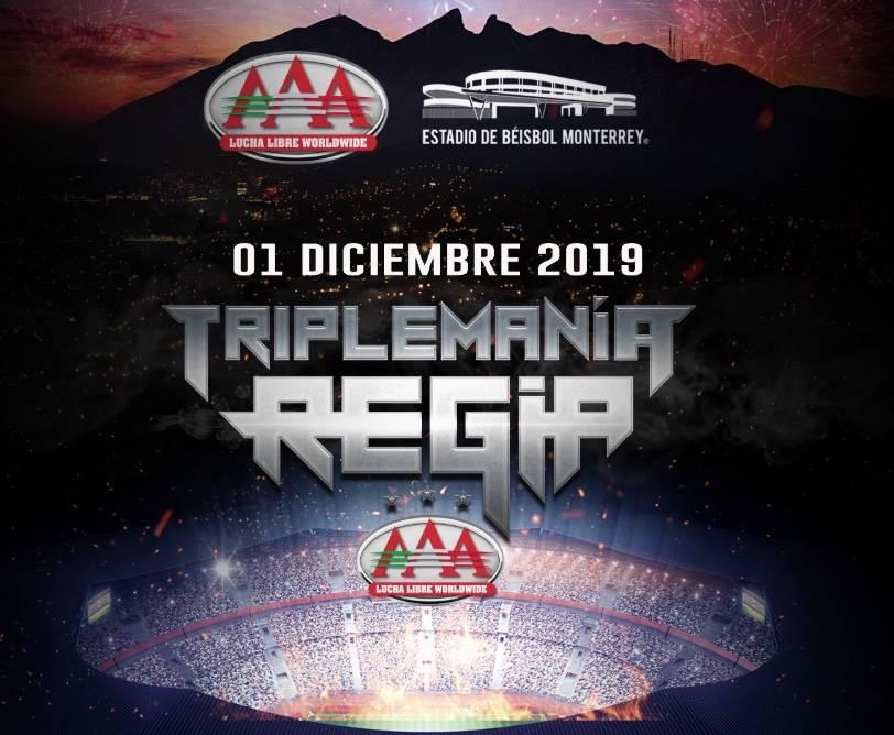 Revelan cartel de Triplemanía Regia; por primera vez sale de la CDMX