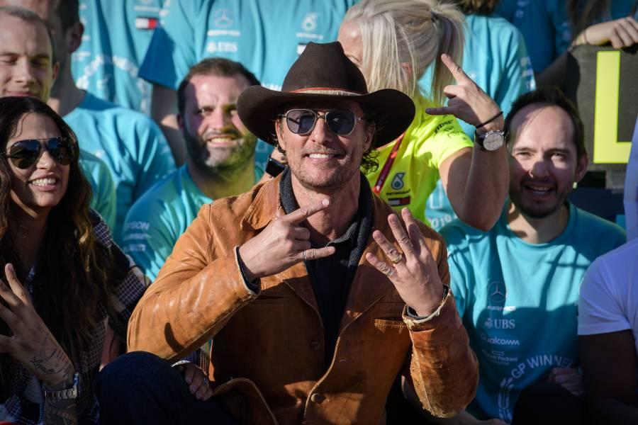 """Dos Caras"" será protagonizado por Matthew McConaughey"