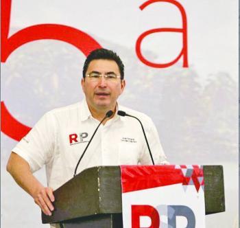 Reconocen a yerno de Elba como presidente de RSP