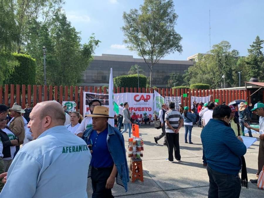 Organizaciones campesinas realizaran plantón en cámara de Diputados para defender al campo: González Aguilera