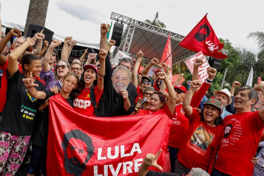 La Corte Suprema de Brasil libera de la cárcel al ex Presidente Lula da Silva