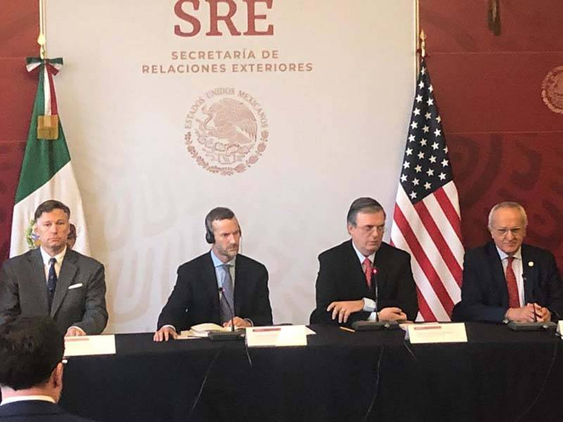 Anuncian avances en cooperación y desarrollo México-Estados Unidos