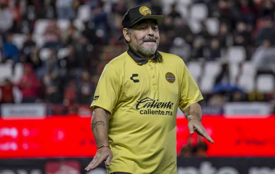 Maradona feliz por la liberación de Lula da Silva