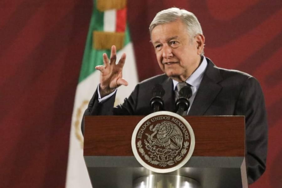Desconoce AMLO investigación contra ex secretarios de EPN