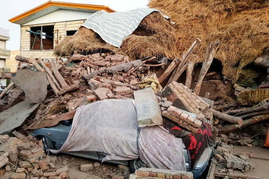 Terremoto de 5.9 en Irán deja cinco muertos y más de 300 heridos