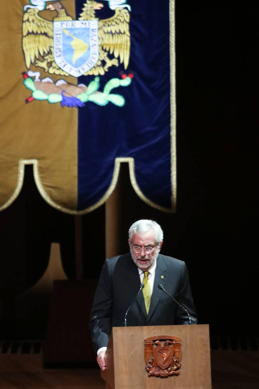Enrique Graue nuevo rector de la UNAM del periodo 2019-2023