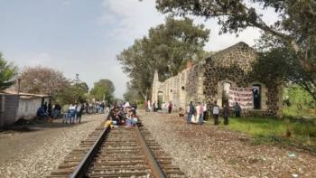 Liberan vías del tren en Michoacán, luego de días de bloqueo