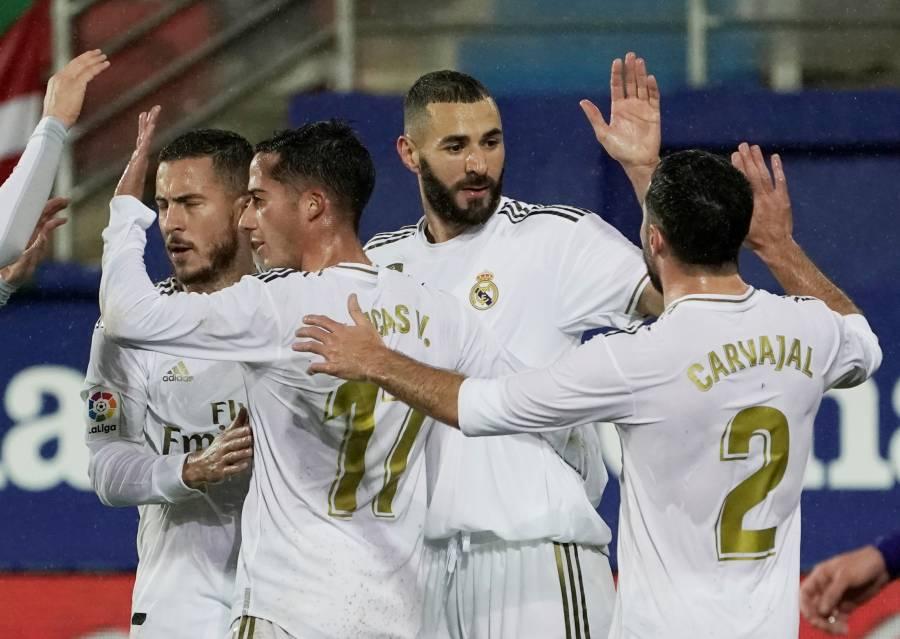 Real Madrid recupera el gol en LaLiga tras vencer al Eibar