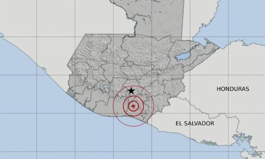 Fuerte sismo sacude el sur de Guatemala