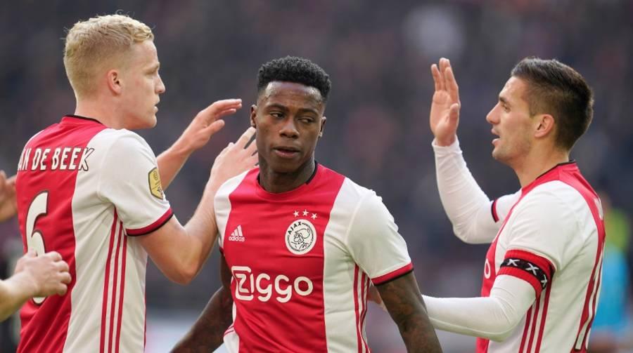 Ajax mantiene el liderato en la Eredivisie; Edson Álvarez no jugó