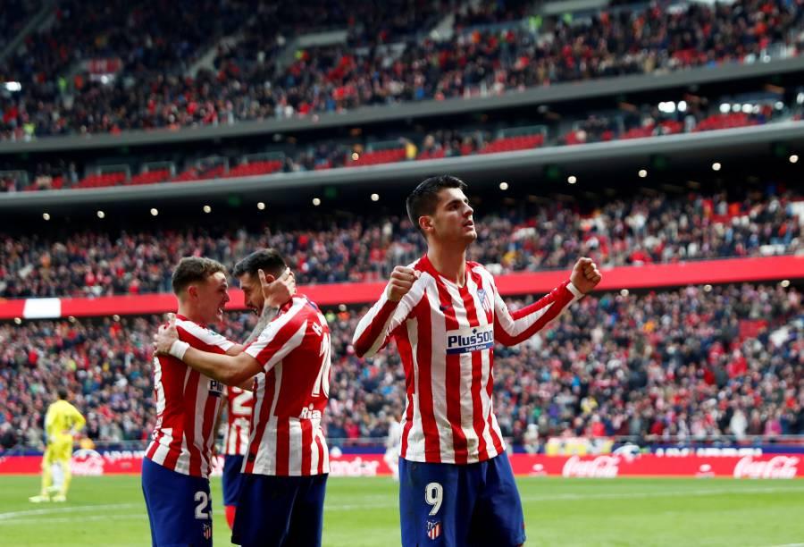 Herrera titular en la victoria del Atlético de Madrid sobre el Espanyol