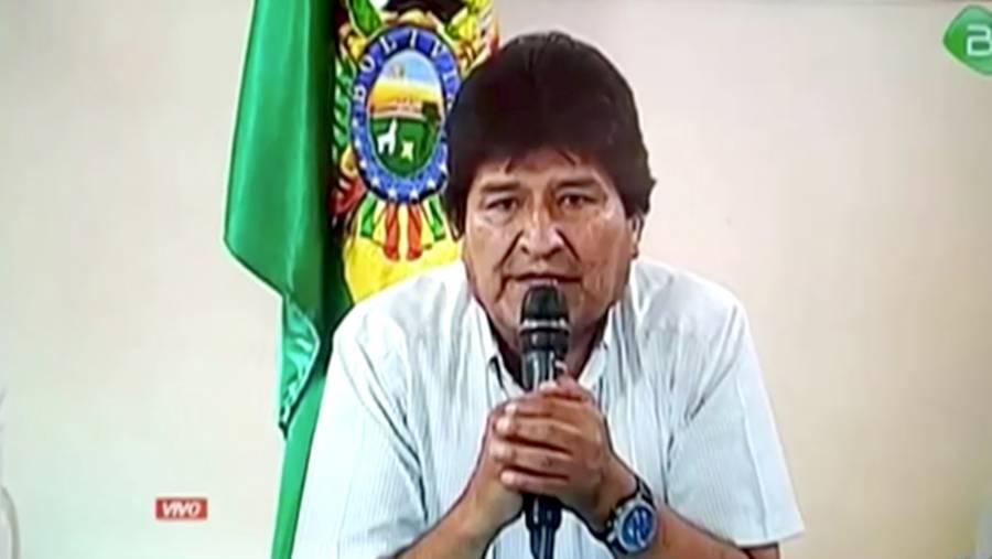 Denuncia Evo Morales que hay una orden de aprehensión en su contra