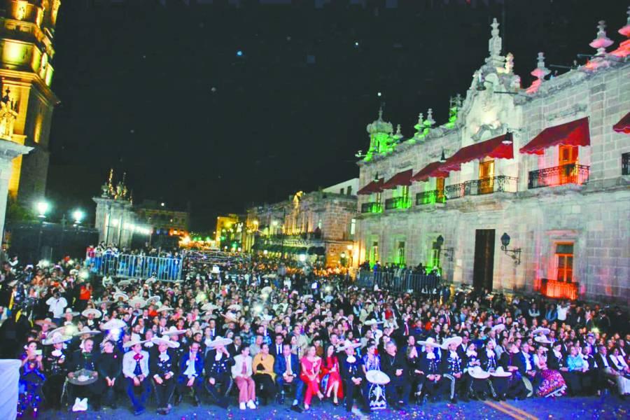 Autentica inauguración de Michoacán 2019
