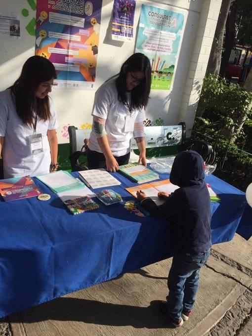 Niños y jóvenes expresaron sus inquietudes través del IECM