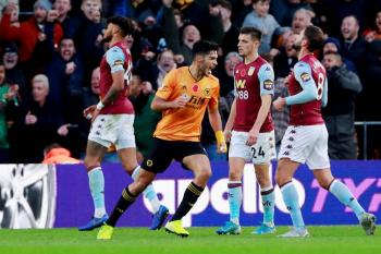 Gol de Raúl Jiménez da la victoria al Wolverhampton sobre el Aston Villa