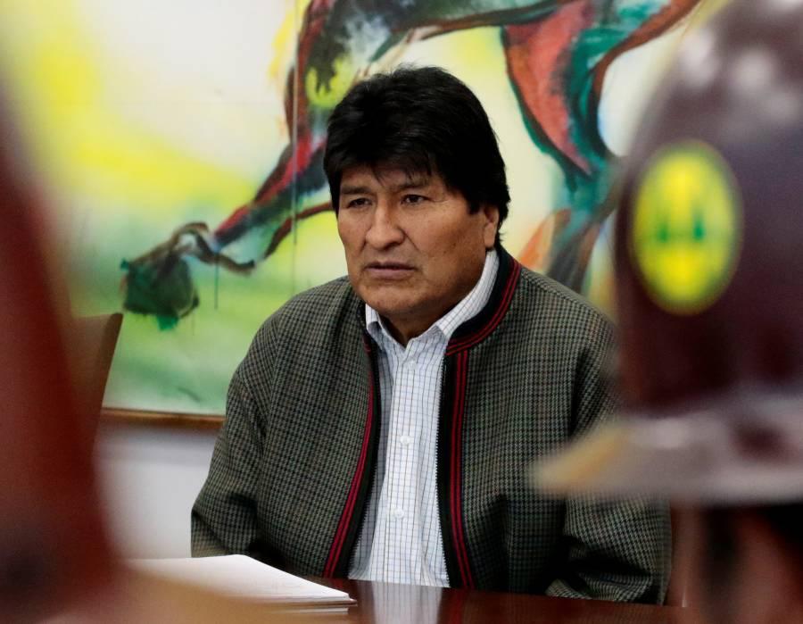 Desconocen paradero de Evo Morales tras renuncia