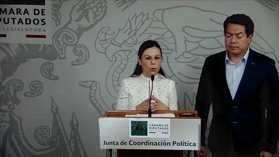 Analiza presidencia de la Cámara una sede alterna para sesionar: Rojas Hernández