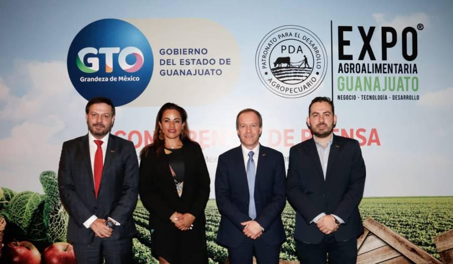 Presentan la Expo Agroalimentaria Guanajuato 2019