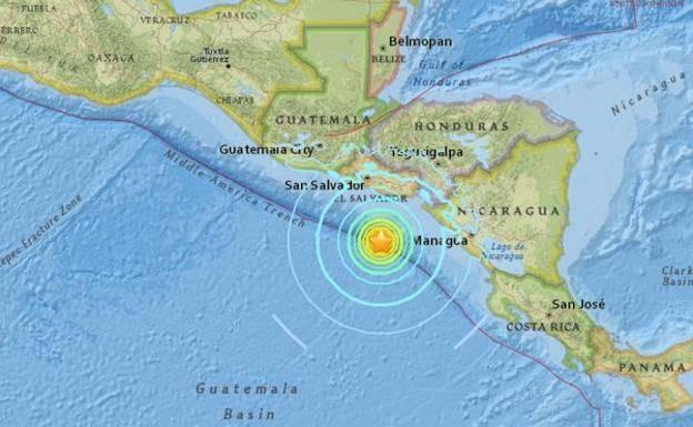 Emiten alerta ante posible tsunami en El Salvador