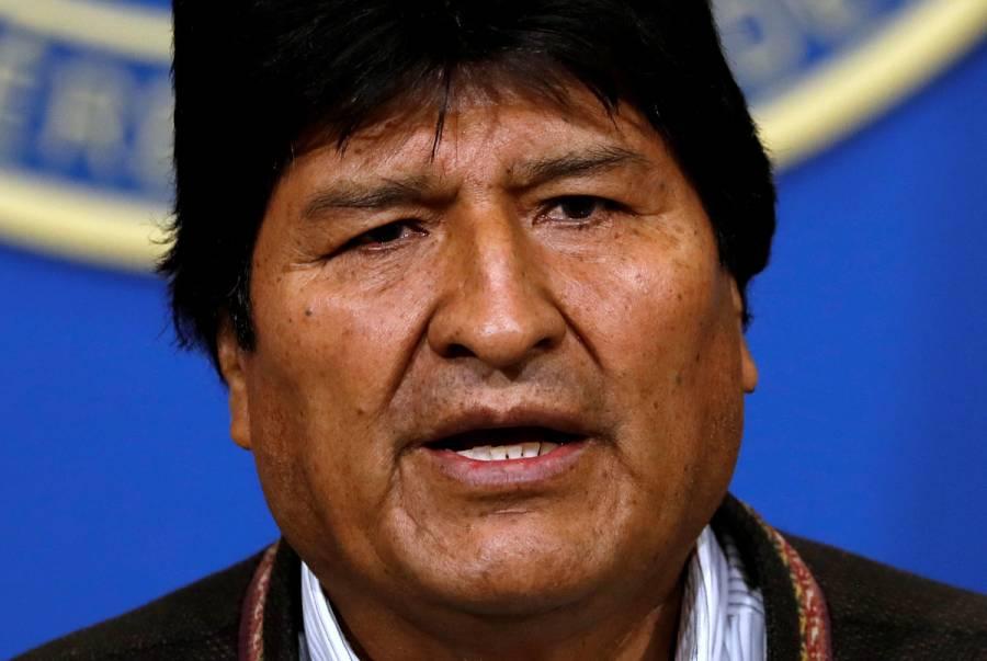 No hay orden de detención contra Evo Morales: Policía de Bolivia