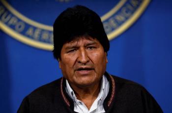 Parto rumbo a México: Evo Morales