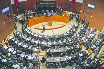 Excandidatos a la CNDH exigen al Senado reponer el proceso