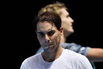 Nadal cae en su debut en el ATP Finals