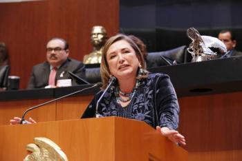 Xóchitl Gálvez revela video de supuesto segundo voto para designar a titular de la CNDH