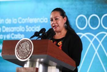 No a políticas clientelares ni asistencialistas: María Luisa Albores