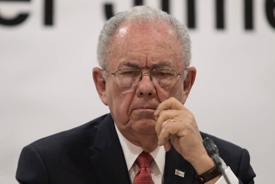 Dice Jiménez Espriú que no le corresponde hablar de denuncias contra su antecesor