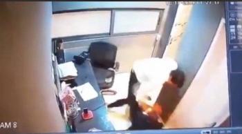 Inquilino golpea a un vigilante en la Condesa