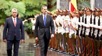 Díaz-Canel y Felipe VI se reúnen en Cuba